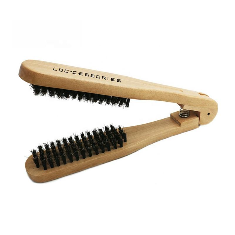 (Wholesale) Natural Boar Bristle Loc Brush - Loccessories™