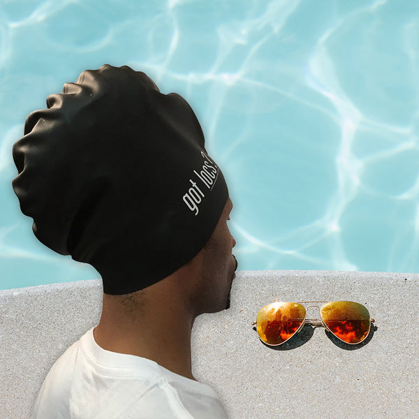 Aqualocs XL Swim Cap for Dreadlocks, Box Braids & Big Hair - Loccessories™