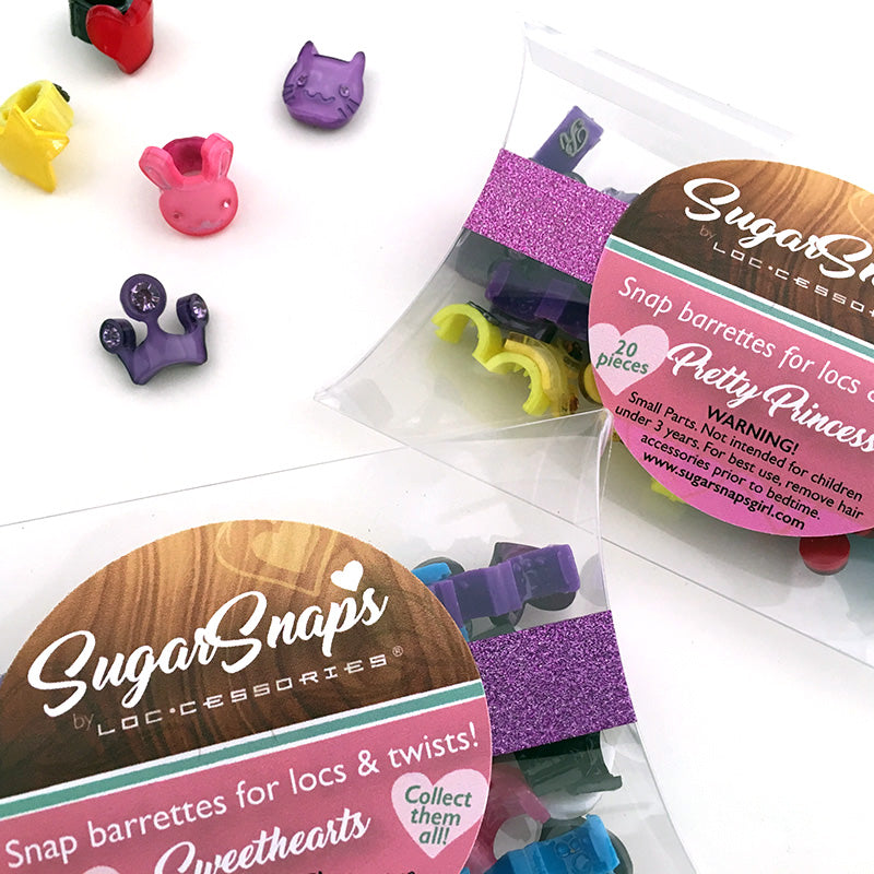 Sugar Snaps Hair Barrettes - Loccessories™