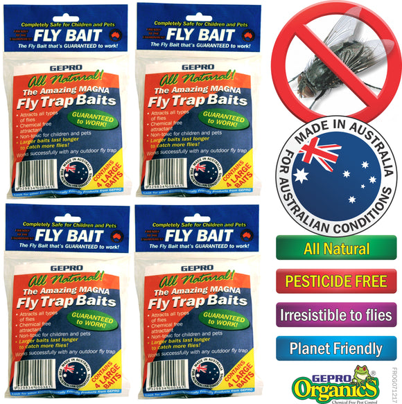 Fly Traps and Baits