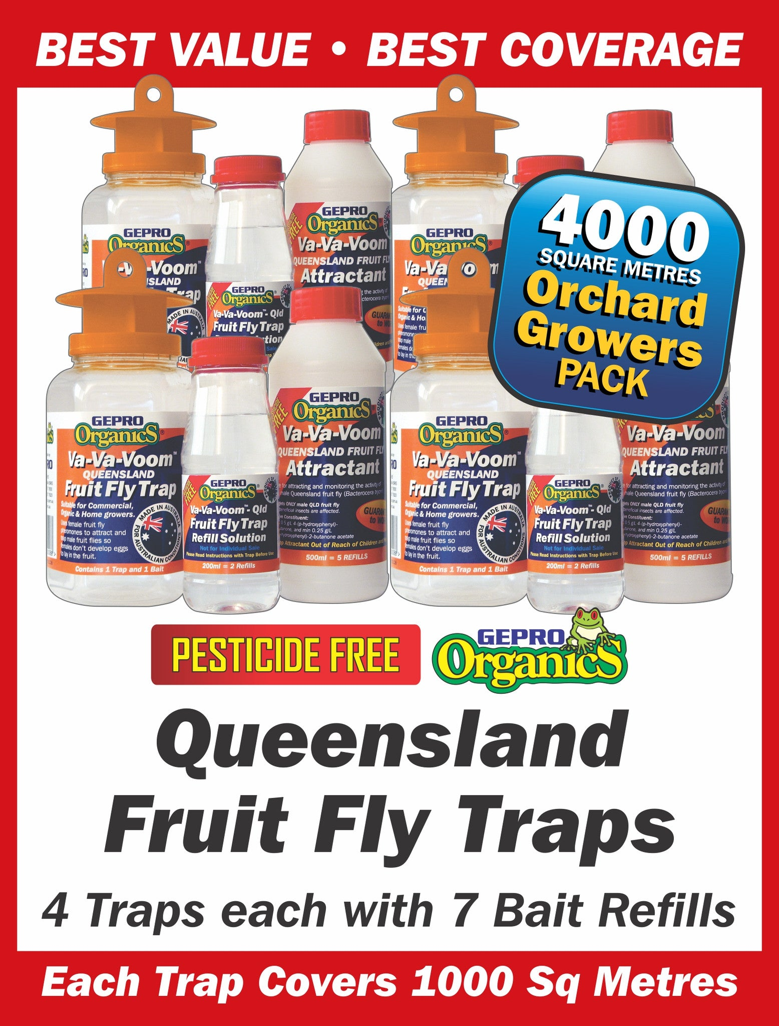 GEPRO ORGANICS Personal Mosquito & Fly Herbal Spray