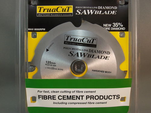 Fibre Cement Saw Blades Professional Quality Free Delivery