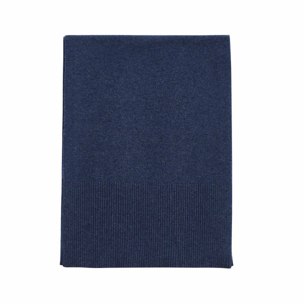 Aleger Cashmere Scarf in Ink Grey