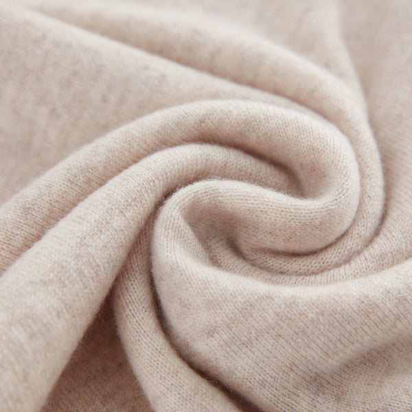 Aleger Cashmere Scarf in Shell