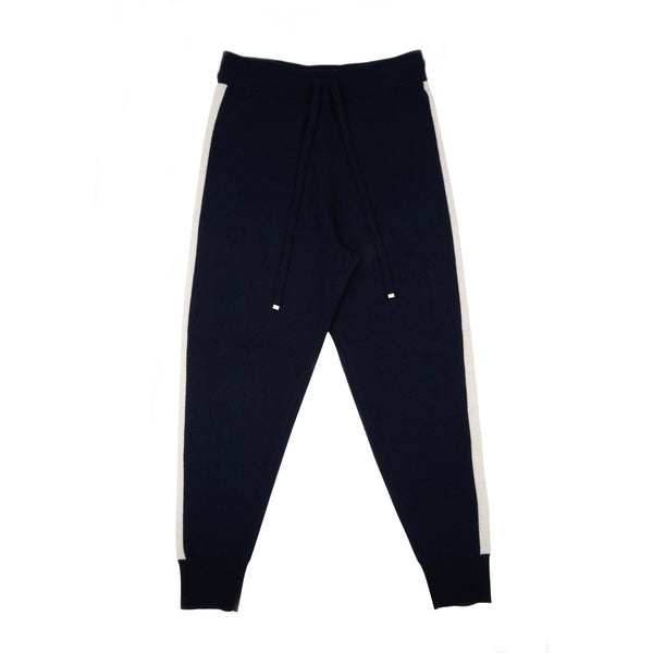 Aleger Navy Cashmere Track-pant