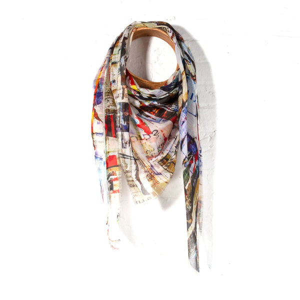 Isabelle Gougenheim Cylindriques Scarf