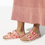 Birkenstock Arizona Red Hearts