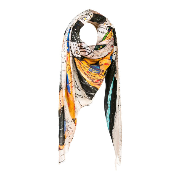 Isabelle Gougenheim Lettre D Amour Scarf