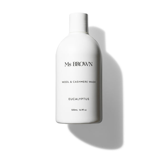 Ms Brown Wool & Cashmere Wash 500ml Eucalyptus