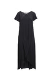 Rabens Saloner Kora Dress in Pirate Black