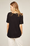 Primness Everyday Tee in Black