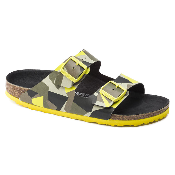 Birkenstock Arizona Yellow Multi Graphic