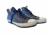 L'Ecologica Blue and Grey High Tops