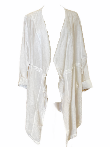 Transit Par Such Linen Oversized Jacket in White