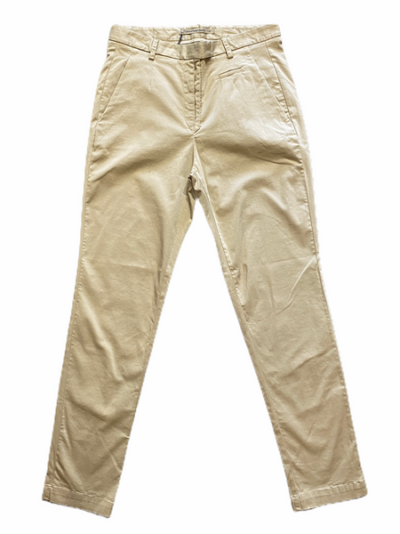 Transit Par Such 5 Button Stretch Pant in Taupe