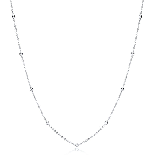 Sarah Stretton Satellite Chain in Silver