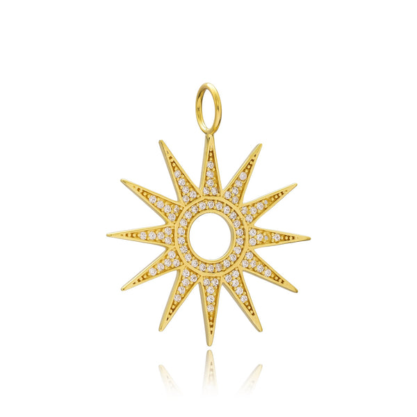 Sarah Stretton Sunshine Charm in Gold