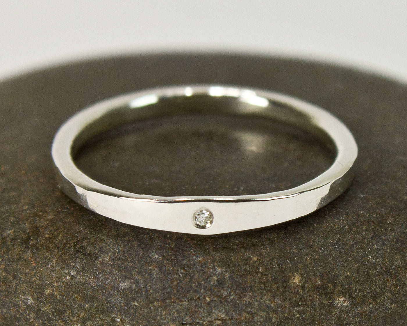 Minimalist Engagement Ring featured on Wedding Know-How