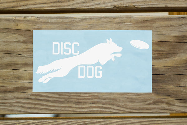 Disc Dogs Sticker