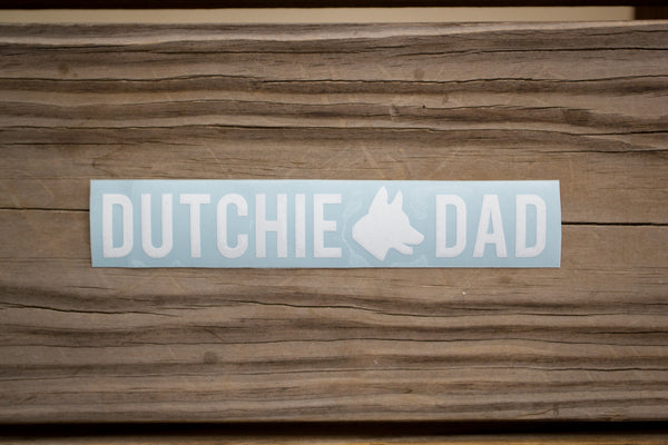 Dutchie Dad Sticker