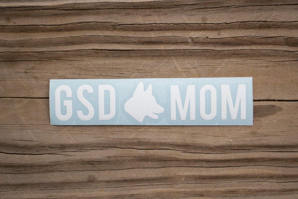 GSD Mom Sticker