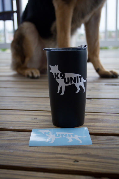 K9 UNIT Sticker