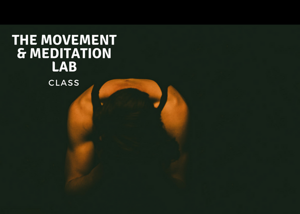 Introductory Movement and Mindfulness Lab class
