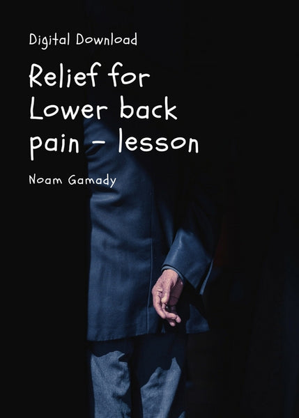 Lesson - Lower Back Comfort