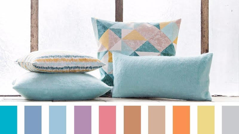color pillows