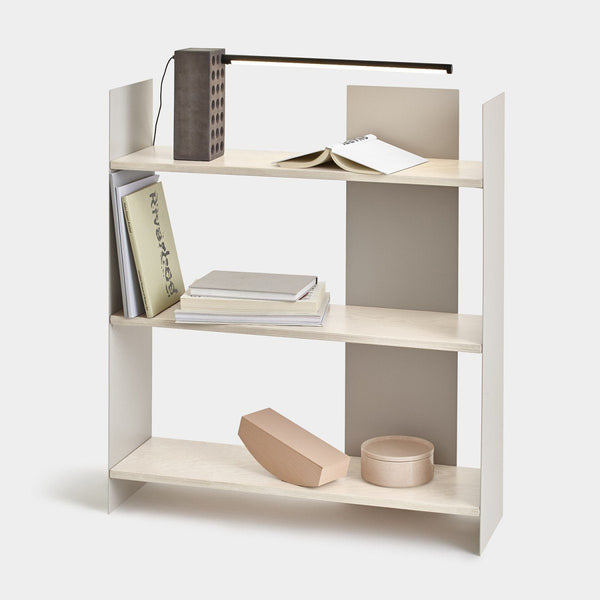 Three Level Wooden Shelf - Upper Earth
