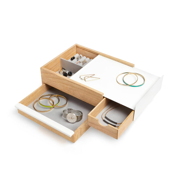 Natural Wooden Jewelry Box