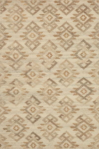 Akina Handwoven Area Rug in Ivory and Beige - Upper Earth