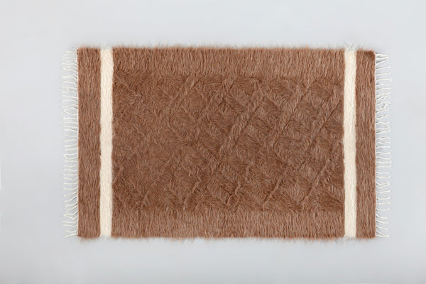 Cihan Mohair Rug - Upper Earth