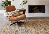 Beacon Handwoven Area Rug in Charcoal - Upper Earth