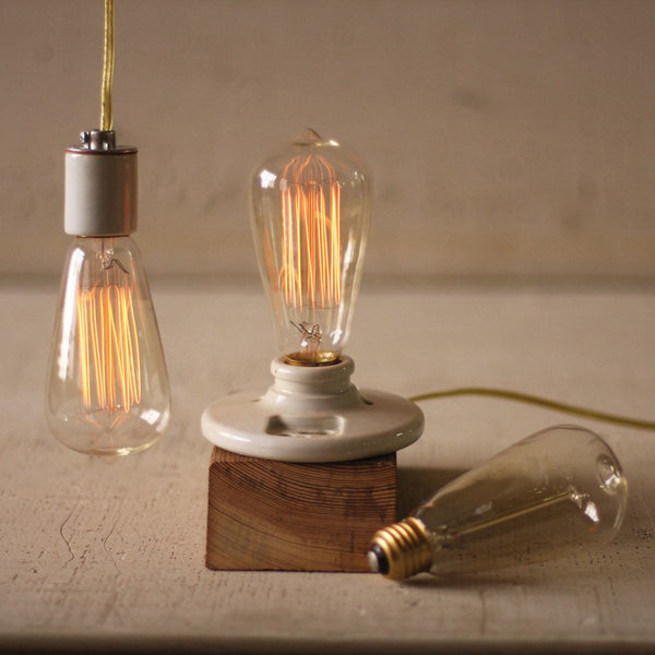 Edison Exposed Filament 40W Light Bulb - Upper Earth