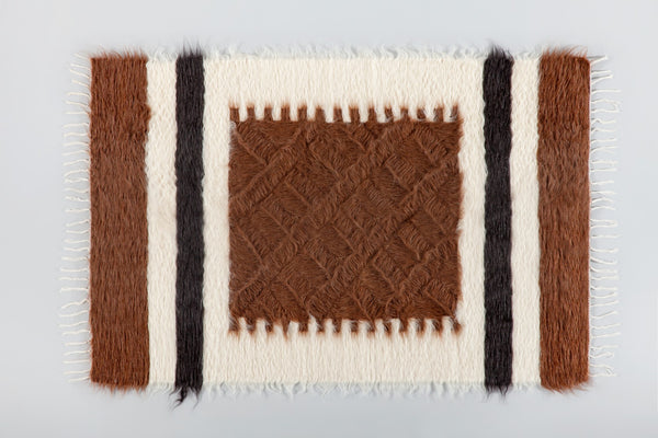 Erdem Mohair Rug - Upper Earth