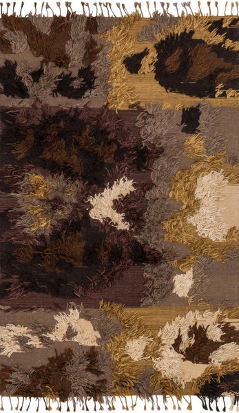 Fable Handwoven Area Rug in Walnut - Upper Earth