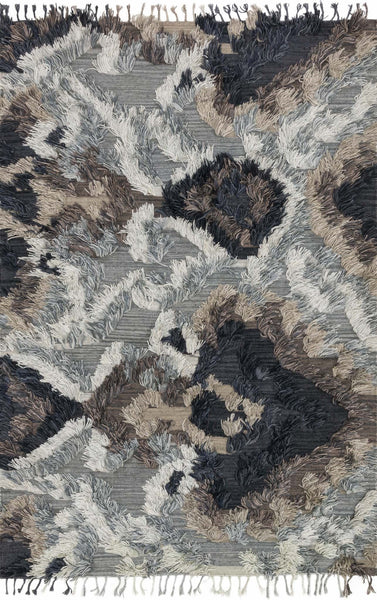Fable Handwoven Area Rug in Granite - Upper Earth