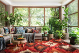 Fable Handwoven Area Rug in Spice - Upper Earth