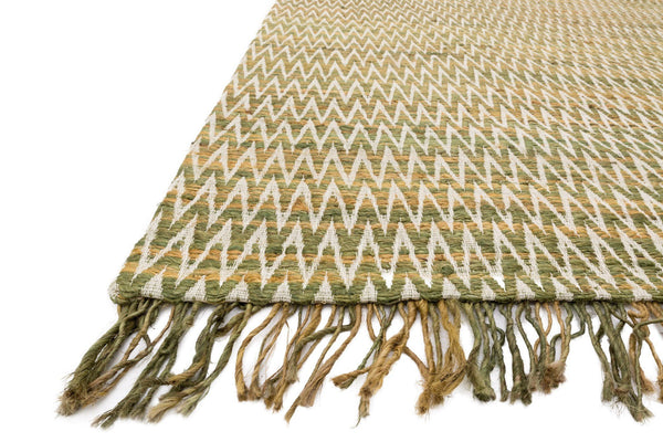 Gerald Handwoven Area Rug in Moss - Upper Earth