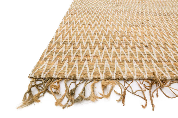 Gerald Handwoven Area Rug in Natural - Upper Earth