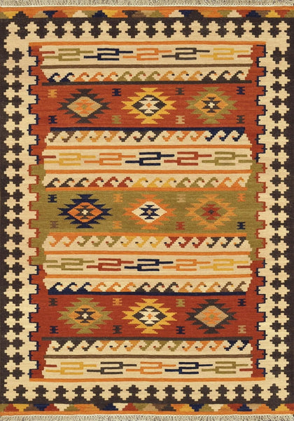 Isara Handwoven Area Rug in Multi - Upper Earth