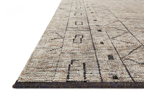Natural & Ash Wool Area Rug - Odyssey
