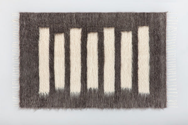 Kamil Mohair Rug - Upper Earth