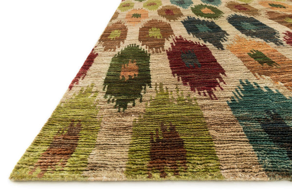 Xavier Hand-Knotted Area Rug in Multi - Upper Earth