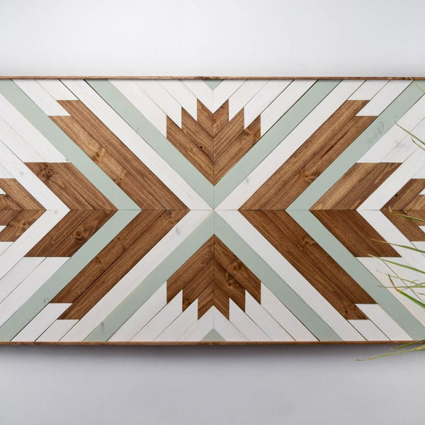 Modern Wooden Wall Art - Upper Earth