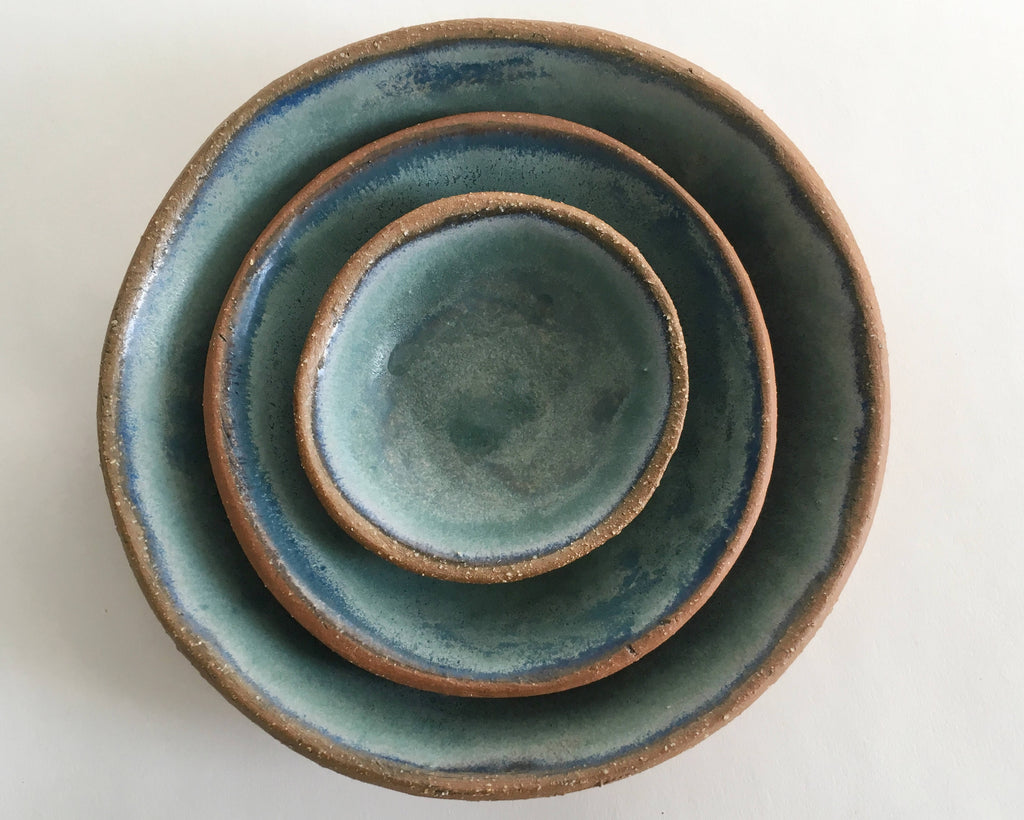 Ceramic Bowl Set in Blue