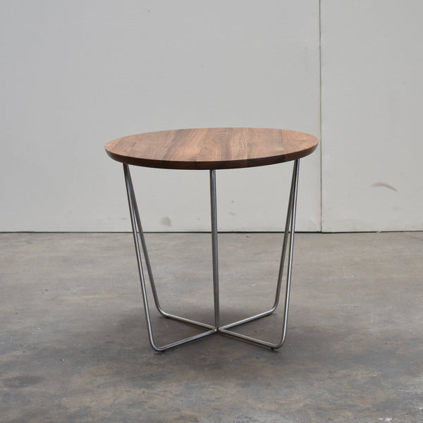 Stainless Steel Side Table - Upper Earth