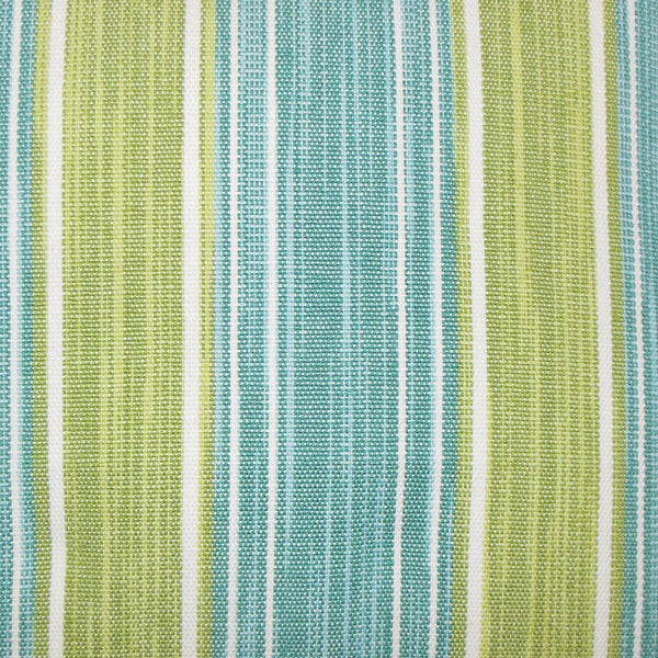 Ferlin Stripes Pillow Aqua Green - Upper Earth