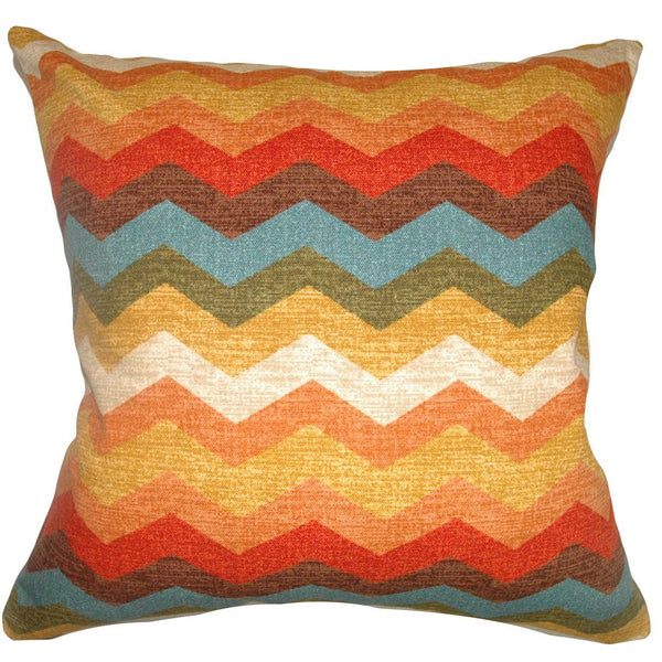 Gail Zigzag Pillow Autumn - Upper Earth